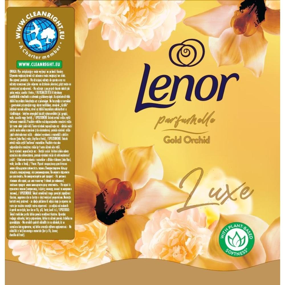 LENOR GOLD ORCHID PŁYN DO PŁUKANIA TKANIN 1420 ML