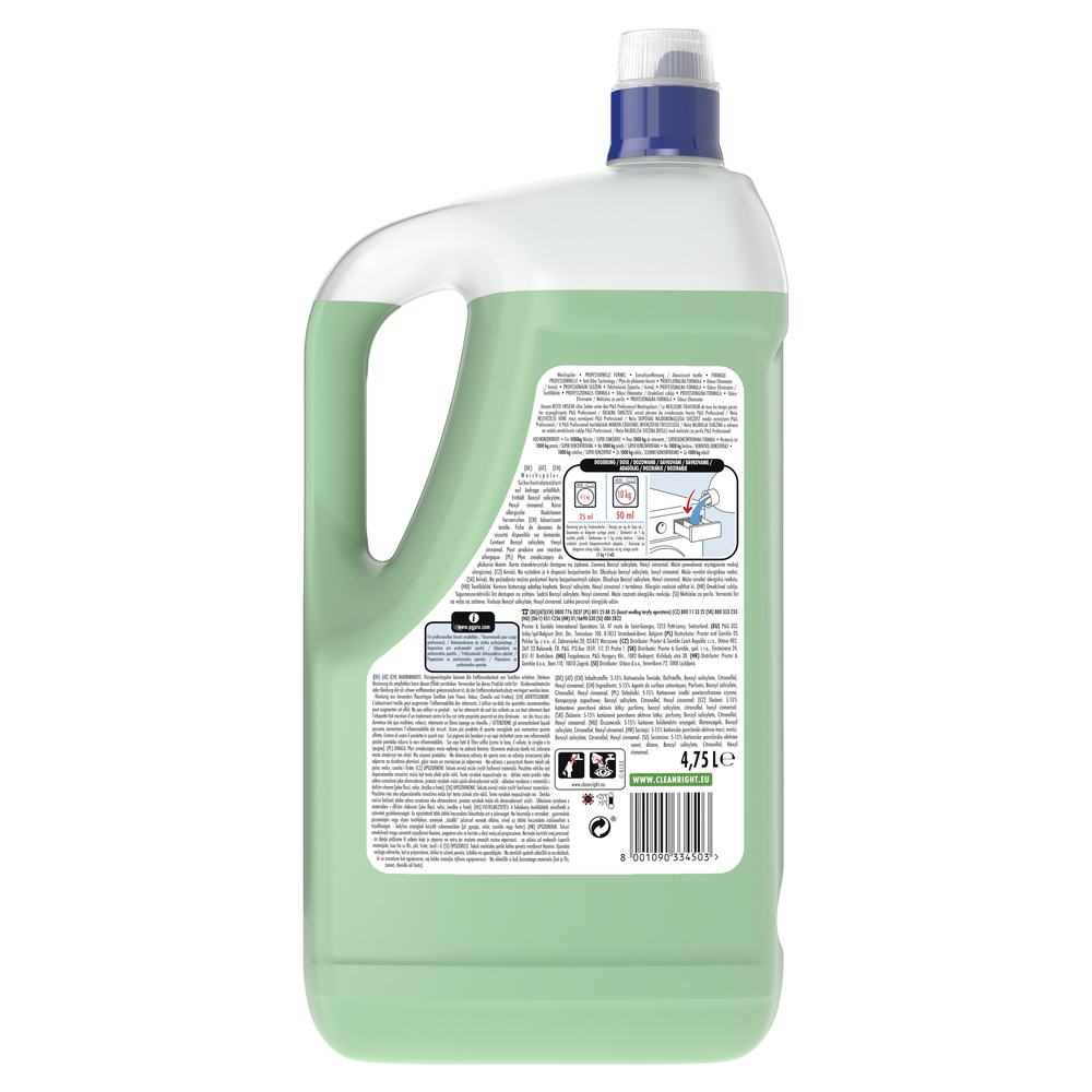 LENOR PROFESSIONAL ODOUR ELIMINATOR PŁYN DO PŁUKANIA TKANIN 4.75L
