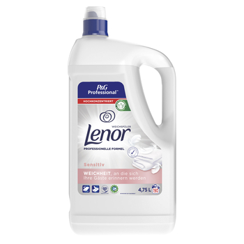 LENOR PROFESSIONAL SENSITIVE PŁYN DO PŁUKANIA TKANIN 4.75L