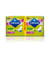 LIBRESSE ULTRA WING DUO PACK NORMAL ALOE VERA&CAMOMILE