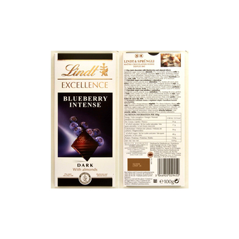 LINDT EXCELLENCE BLUEBERRY 100G