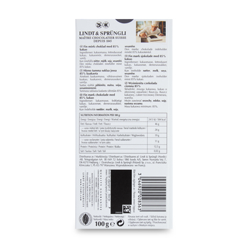 LINDT EXCELLENCE 85% COCOA 100G