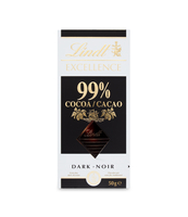 LINDT EXCELLENCE 99% COCOA 50G