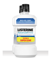 LISTERINE ADVANCED WHITE ZESTAW 2X 500ML