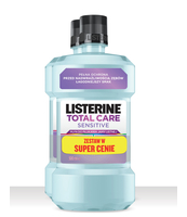 LISTERINE TOTAL CARE SENSITIVE ZESTAW 2X500ML