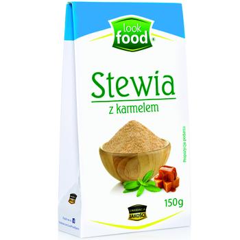 LOOK FOOD STEWIA Z KARMELEM 150G