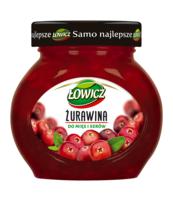 ŁOWICZ ŻURAWINA DO MIĘS I SERÓW 230 G