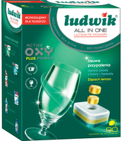 LUDWIK ALL IN ONE TABLETKI DO ZMYWAREK ULTIMATE POWER 90 SZT.