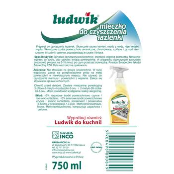 Ludwik Mleczko Do Czyszczenia łazienki Spray 750ml