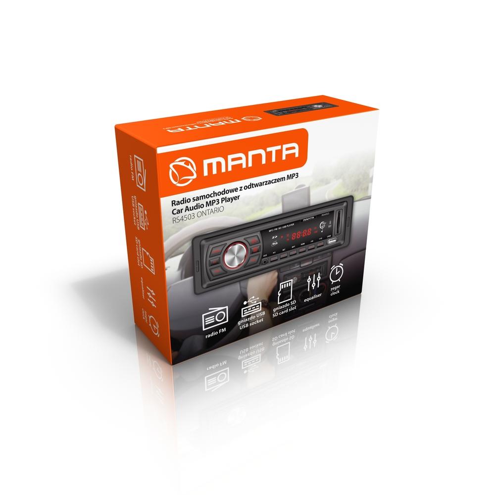 RADIO SAMOCHODOWE MANTA ONTARIO RS4503