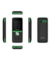 """TELEFON KOMÓRKOWY MANTA 1.77"""" AVO3 BLACK/GREEN TEL1712BG"""