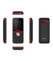 "TELEFON KOMÓRKOWY MANTA 1.77"" AVO3 BLACK/RED TEL1712BR"