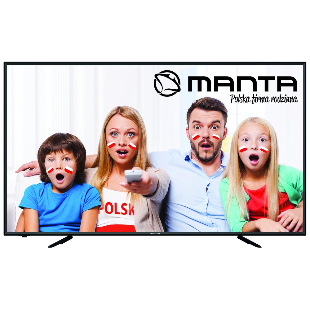 "TELEWIZOR MANTA LED 65"" 65LUA58L"