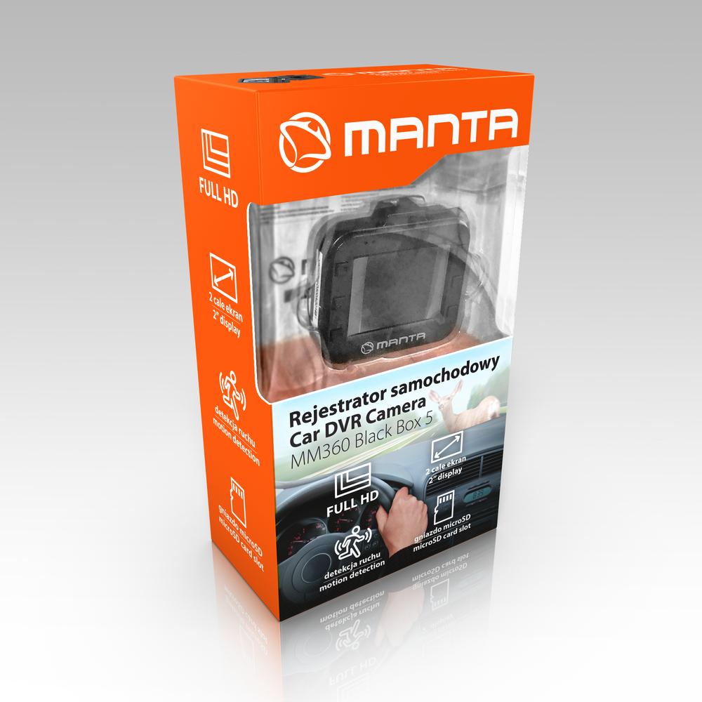 WIDEOREJESTRATOR MANTA MM360