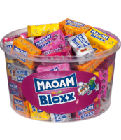 GUMY OWOCOWE ROZPUSZCZALNE MAOAM BLOXX 1ER 1100G