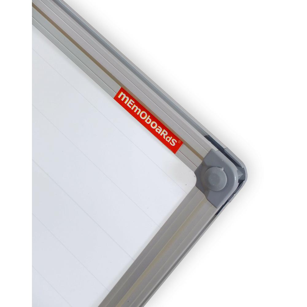 TABLICA SUCHOŚCIERALNO-MAGNETYCZNA W LINIĘ 300X120 CM RAMA ALUMINIOWA CLASSIC