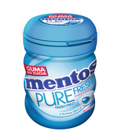 MENTOS PURE FRESH MINT BUTELKA 60G