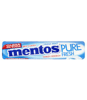 MENTOS PURE FRESH MINT ROLKA 15,5G