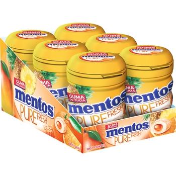 MENTOS PURE FRESH TROPICAL BUTELKA 60G