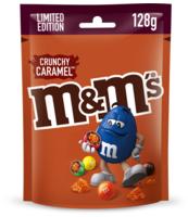 M&MS CRUNCHY CARAMEL 128G