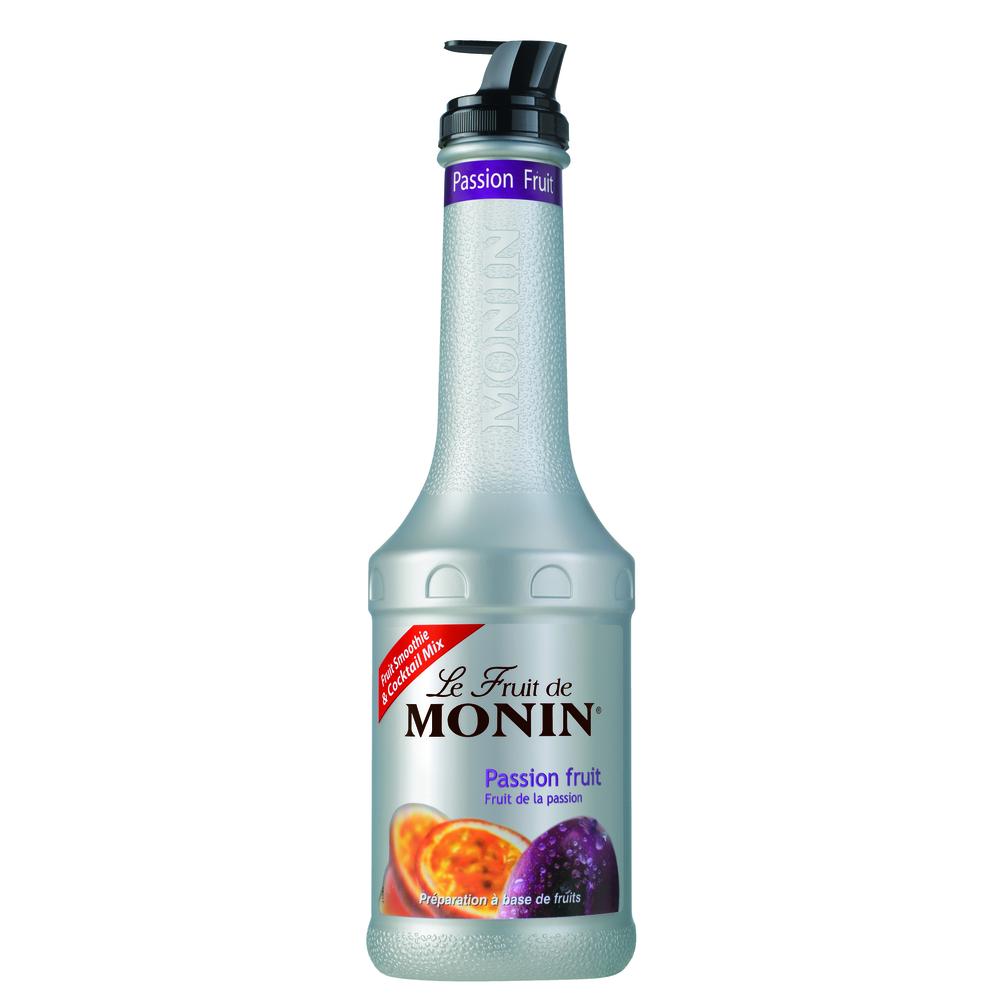 MONIN PUREE PASSION FRUIT - PUREE MARAKUJA 1L