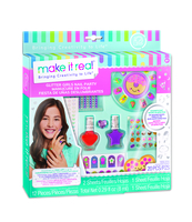 MAKE IT REAL - ZESTAW DO MANICURE GLITTER GIRL PARTY