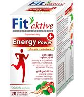 MALWA FIT AKTIVE ENERGY POWER SUPLEMENT DIETY HERBATKA ZIOŁOWA 40 G (20 X 2 G)