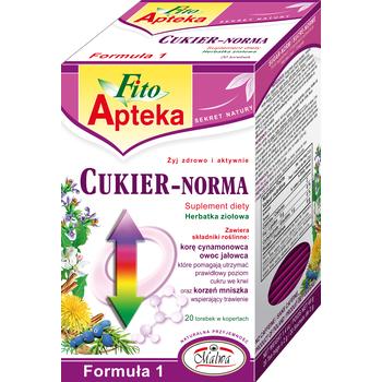 MALWA FITO APTEKA CUKIER NORMA SUPLEMENT DIETY 20X2G