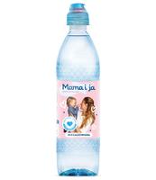 WODA ŹRÓDLANA NIEGAZOWANA MAMA I JA SPORT CAP 0,5 L