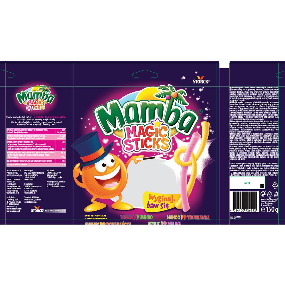 MAMBA MAGIC STICKS 150G