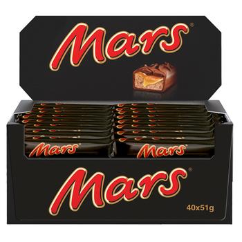 BATON CZEKOLADOWY MARS 51G