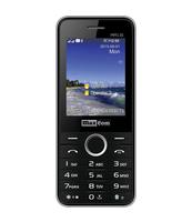 MAXCOM TELEFON GSM MM 136 DUAL SIM CZARNO-SREBRNY