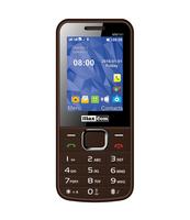 MAXCOM TELEFON GSM MM 141 BRĄZOWY