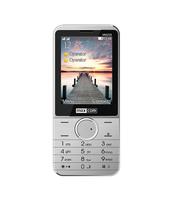 MAXCOM TELEFON GSM MM235 SREBRNY