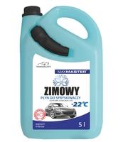 MAXMASTER PŁYN DO SPRYSKIWACZY ZIMOWY -22 C Z LEJKIEM 5L