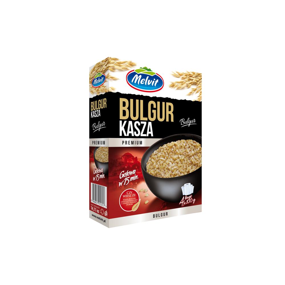 MELVIT KASZA BULGUR 4X100G