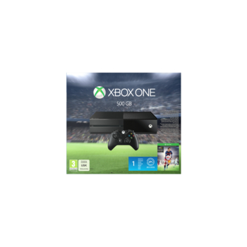 KONSOLA MICROSOFT XBOX ONE 500GB FIFA 16 LEGENDS 1M EA