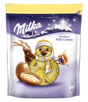 MILKA CHRISTMAS BONBONS MILKCREME 86G