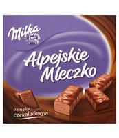 MILKA ALPEJSKIE MLECZKO CZEKOLADOWE 330G