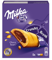MILKA CRUNCHY BREAK 130G