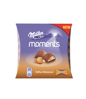 MILKA MOMENTS TOFFEE WHOLE NUT 97G
