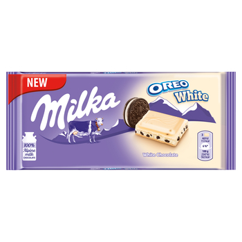 MILKA OREO WHITE 100 G