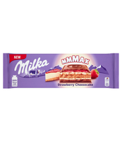 MILKA STAWBERRY CHEESECAKE 300G
