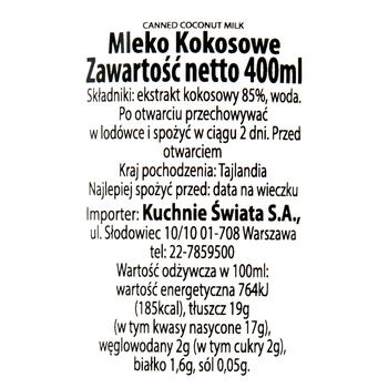 MLECZKO KOKOSOWE 400ML