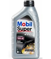 OLEJ SILNIKOWY MOBIL SUPER 2000 X1 10W-40 DIESEL 1L