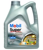OLEJ SILNIKOWY MOBIL SUPER 3000 XE 5W-30 4L