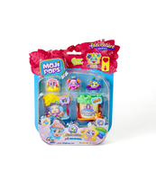 MOJIPOPS ADVENTURE BLISTER 4 TEAM HUTS
