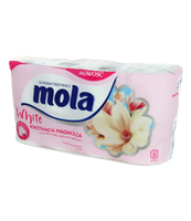 PAPIER TOALETOWY MOLA AROMA MAGNOLIA 8 ROLEK