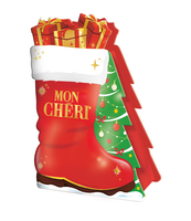 MON CHERI CHRISTMAS BOOT, PRALINY 42G