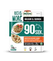 MONINI RICE&MORE 90S BULGUR&QUINOA 250 G